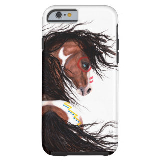 Majestic Horse Two Feather by Bihrle Cell Case