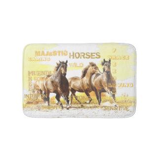 Majestic Horses Bath Mat Bath Mats