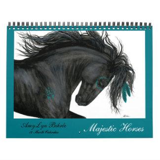 Majestic Horses Calendar by BiHrLe