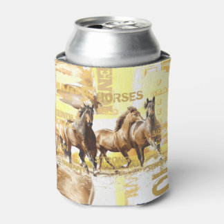 Majestic Horses Can Cooler