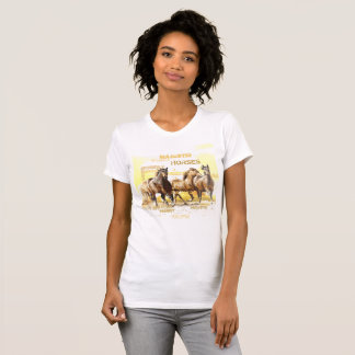 Majestic Horses Crew Neck T-Shirt