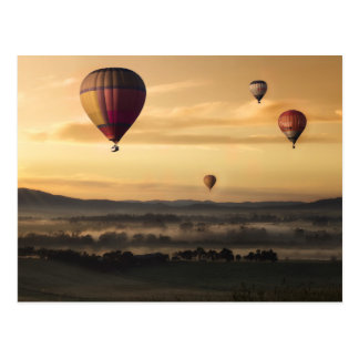 Majestic Hot Air Balloons Postcard