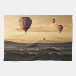 Majestic Hot Air Balloons Tea Towel