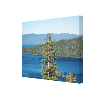 Majestic Lake Tahoe Canvas Print