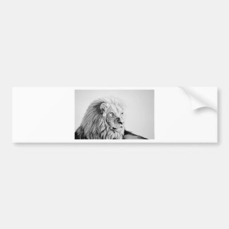 Majestic Lion Bumper Sticker