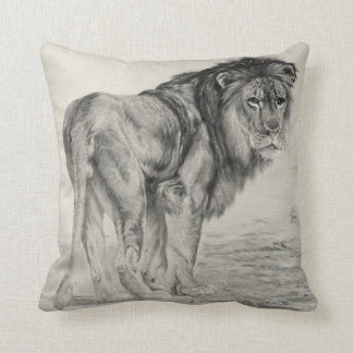 Majestic Lion Cushion