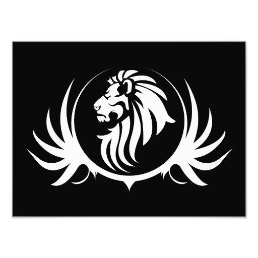 Majestic Lion Head Photographic Print