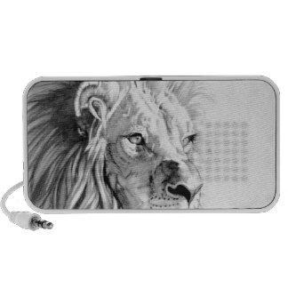 Majestic Lion iPhone Speakers