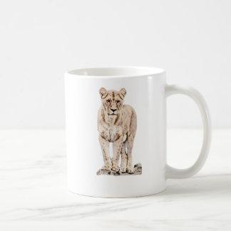 Majestic Lioness Coffee Mug
