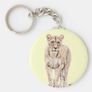 Majestic Lioness Key Ring