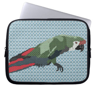 Majestic Macaw Blue Computer Sleeve