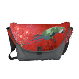 Majestic Macaw Messenger Bag