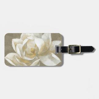 Majestic Magnolia Luggage Tag