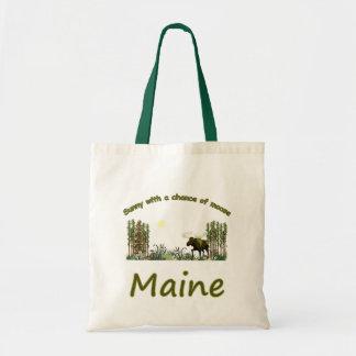 Majestic Maine Moose Tote Bag