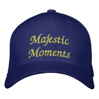 Majestic Moments Embroidered Cap