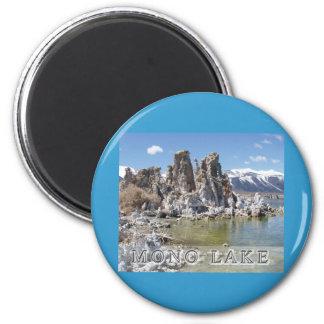 Majestic Mono Lake 6 Cm Round Magnet