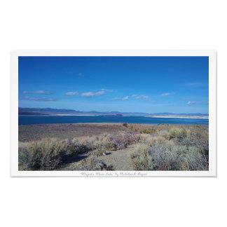 """Majestic Mono Lake,"" Nature Decor Photo"