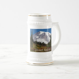 Majestic Mount Rainier Photo Beer Stein