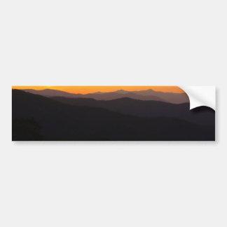 Majestic Mountains Bumper Sticker