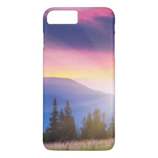 Majestic mountains landscape under morning sky iPhone 8 plus/7 plus case