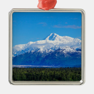 Majestic Mt McKinley Christmas Ornament