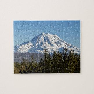 Majestic Mt. Rainier Jigsaw Puzzle