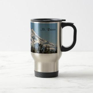 Majestic Mt. Rainier Travel Mug