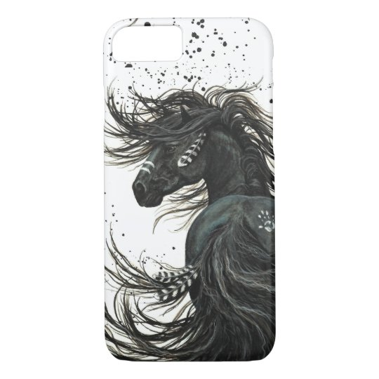 Majestic Mustang Horse by BiHrLe iPhone 7 case