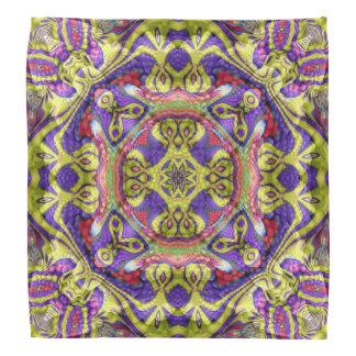 Majestic One,  colorful kaleidoscope bandana