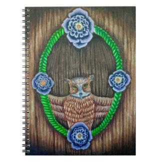 Majestic Owl notebook