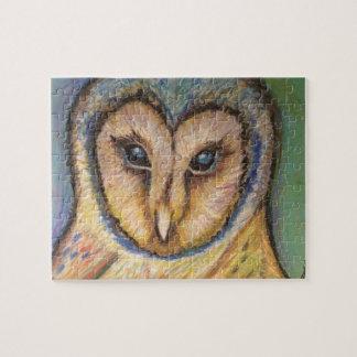Majestic Owl Puzzle