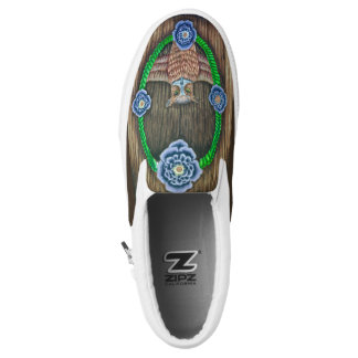 Majestic Owl Slip-on Shoes