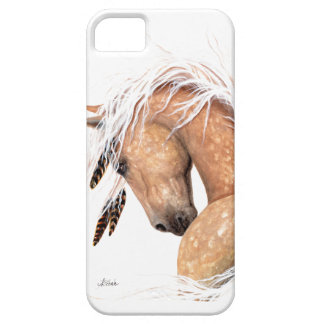 Majestic Palomino Horse by Bihrle iPhone 5 Covers