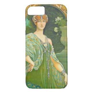 Majestic Peacock 1905 iPhone 7 Case