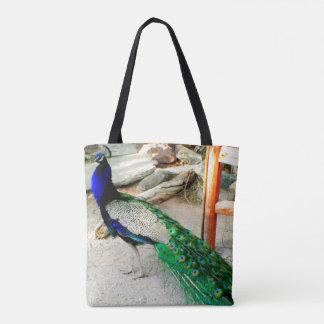 Majestic Peacock Carryall Bag