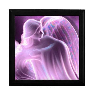 Majestic Pink Angel Keepsake Box