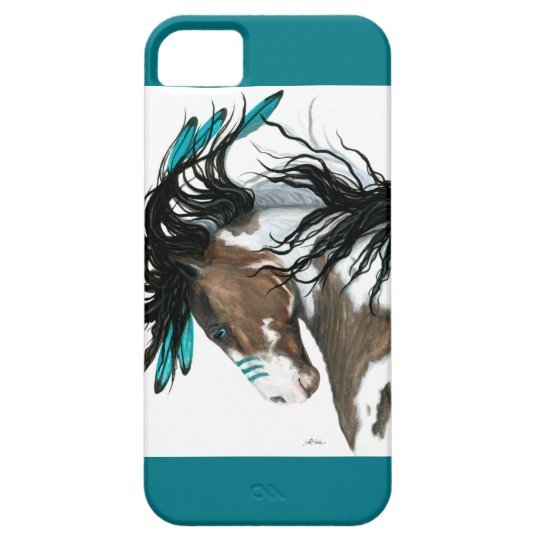 Majestic Pinto Horse by Bihrle iPhone 5 Covers