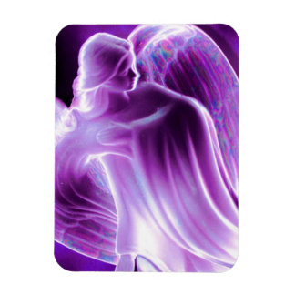 Majestic Purple Angel Magnet