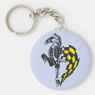 Majestic Robot Horse Key Ring
