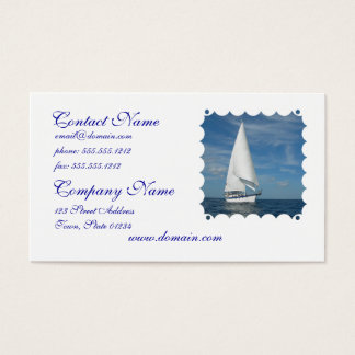 Majestic Sail Business Cards