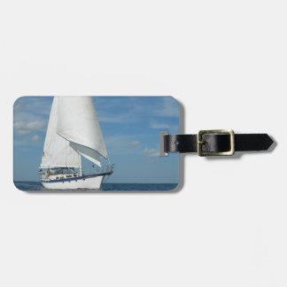 Majestic Sail Luggage Tag