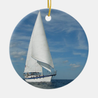 Majestic Sail Ornament