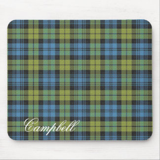 Majestic Scottish Campbell Family Tartan Mouse Mat