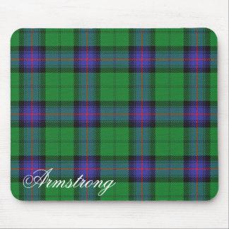 Majestic Scottish Clan Armstrong Tartan Mouse Mat