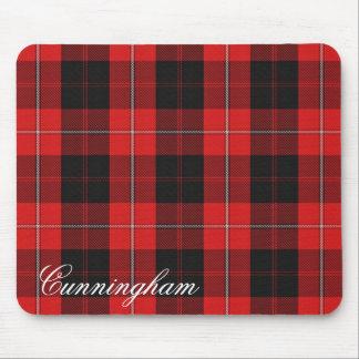 Majestic Scottish Clan Cunningham Tartan Mouse Mat