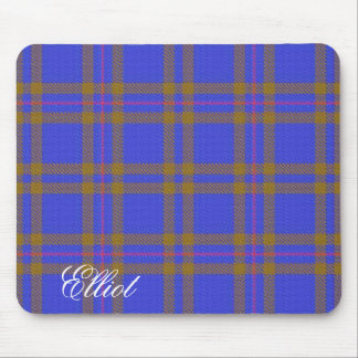 Majestic Scottish Clan Elliot Tartan Mouse Mat