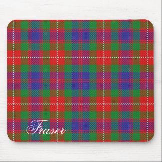 Majestic Scottish Clan Fraser of Lovat Tartan Mouse Mat