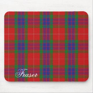 Majestic Scottish Clan Fraser Tartan Mouse Mat