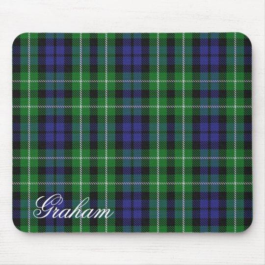 Majestic Scottish Clan Graham Tartan Mouse Mat