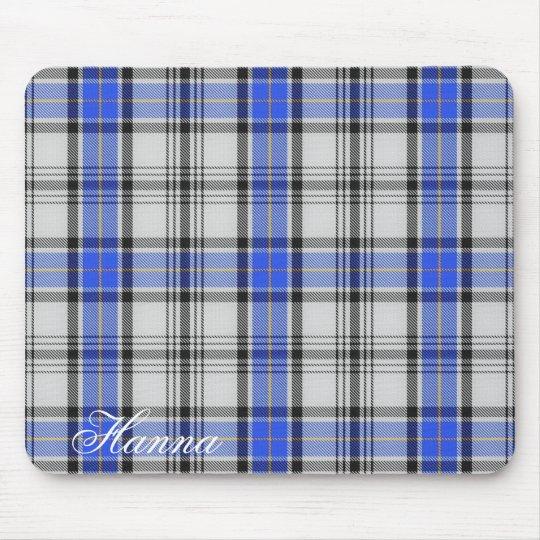 Majestic Scottish Clan Hannay Tartan Mouse Mat
